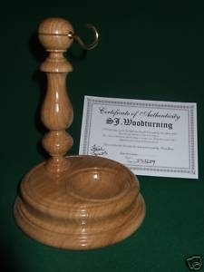 Pocket Watch Stand / Display - Oak