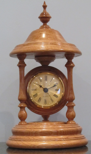 Bandstand Clock The Woodturners